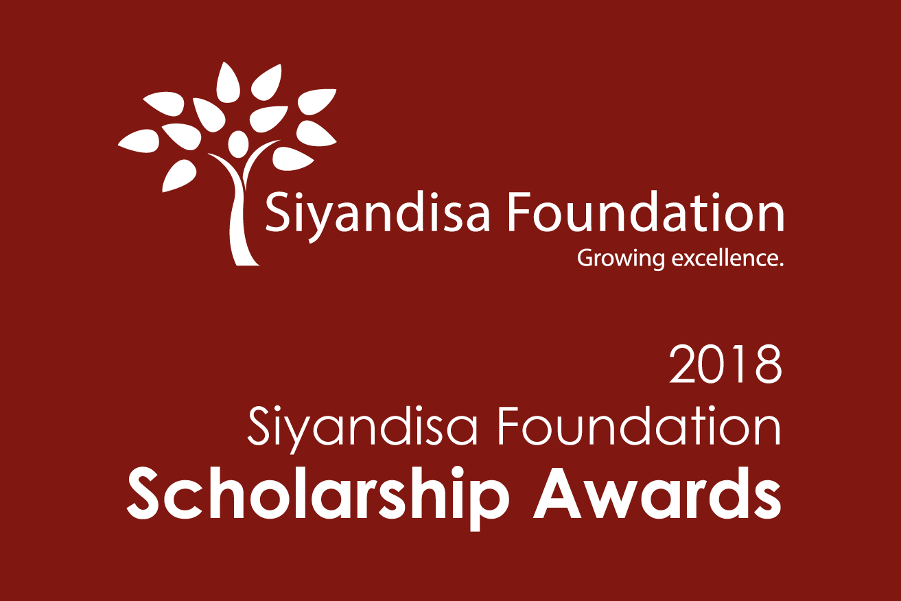 2018 Siyandisa Foundation Scholarships set to be awarded to 50 top black learners across SA