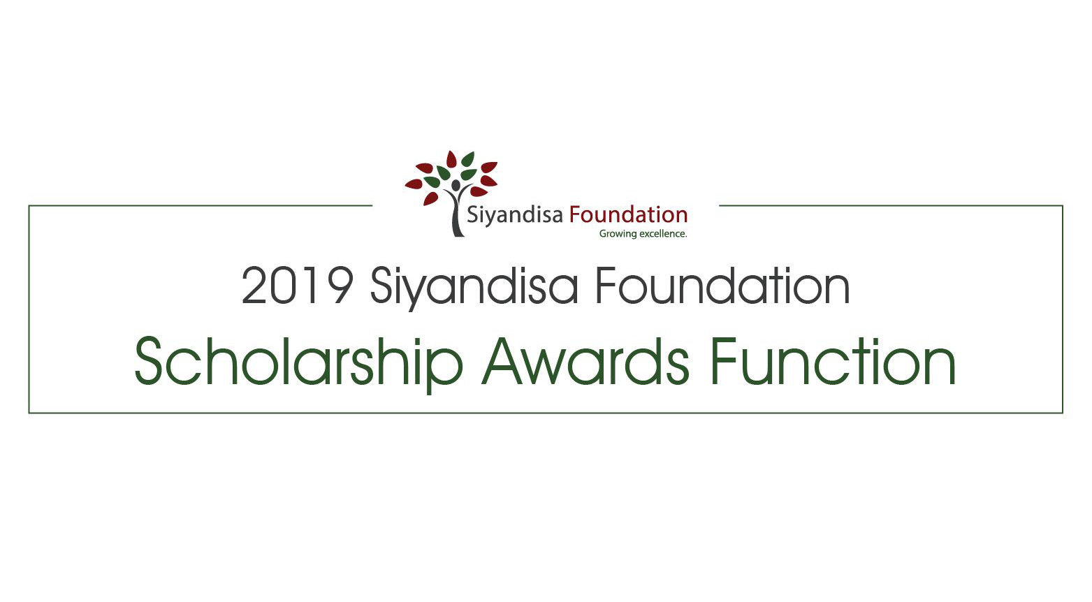 2019 Siyandisa Foundation Scholarships to be awarded to 50 top black learners across SA