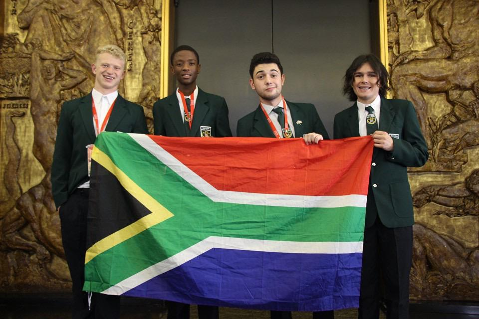 Siyandisa Foundation Scholarship recipient represents SA at International Olympiad in Paris